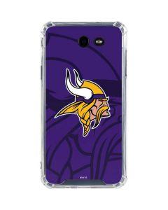 Minnesota Vikings Double Vision Galaxy J7 (2017) Clear Case