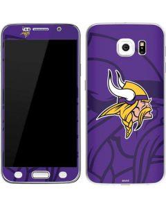 Minnesota Vikings Double Vision Galaxy S6 Skin