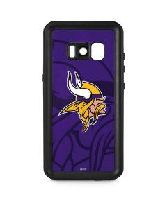 Minnesota Vikings Double Vision Galaxy S8 Plus Waterproof Case