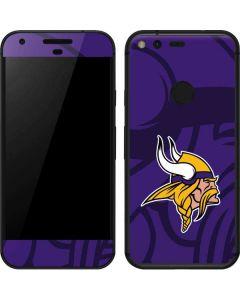 Minnesota Vikings Double Vision Google Pixel Skin