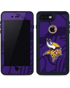Minnesota Vikings Double Vision iPhone 8 Plus Waterproof Case