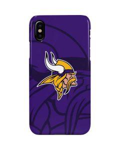 Minnesota Vikings Double Vision iPhone XS Max Lite Case