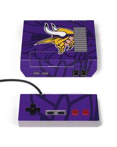 Minnesota Vikings Double Vision NES Classic Edition Skin