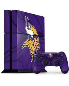 Minnesota Vikings Double Vision PS4 Console and Controller Bundle Skin