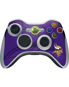 Minnesota Vikings Double Vision Xbox 360 Wireless Controller Skin