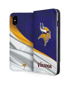 Minnesota Vikings iPhone XS Folio Case