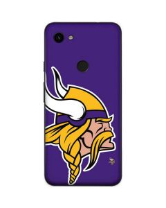 Minnesota Vikings Large Logo Google Pixel 3a Skin