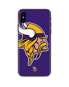 Minnesota Vikings Large Logo iPhone XS Skin