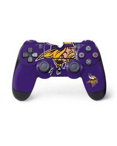 Minnesota Vikings Large Logo PS4 Controller Skin