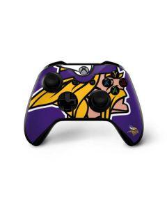 Minnesota Vikings Large Logo Xbox One X Controller Skin