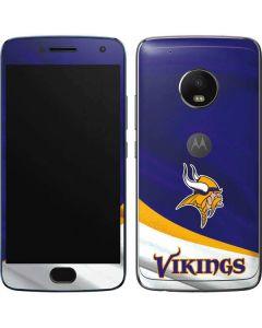 Minnesota Vikings Moto G5 Plus Skin