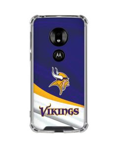 Minnesota Vikings Moto G7 Play Clear Case