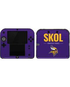 Minnesota Vikings Team Motto 2DS Skin