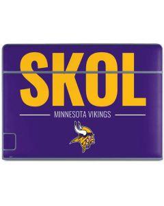 Minnesota Vikings Team Motto Galaxy Book Keyboard Folio 10.6in Skin