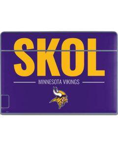 Minnesota Vikings Team Motto Galaxy Book Keyboard Folio 12in Skin