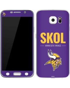 Minnesota Vikings Team Motto Galaxy S6 Skin