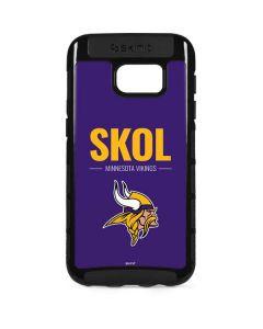 Minnesota Vikings Team Motto Galaxy S7 Edge Cargo Case