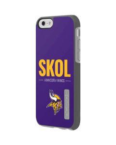 Minnesota Vikings Team Motto Incipio DualPro Shine iPhone 6 Skin