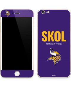 Minnesota Vikings Team Motto iPhone 6/6s Plus Skin