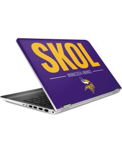 Minnesota Vikings Team Motto HP Pavilion Skin