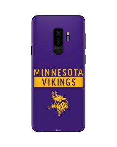 Minnesota Vikings Purple Performance Series Galaxy S9 Plus Skin