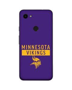 Minnesota Vikings Purple Performance Series Google Pixel 3a Skin