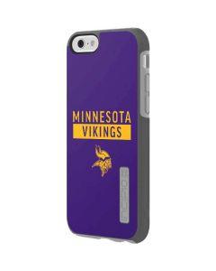 Minnesota Vikings Purple Performance Series Incipio DualPro Shine iPhone 6 Skin
