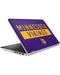 Minnesota Vikings Purple Performance Series HP Pavilion Skin