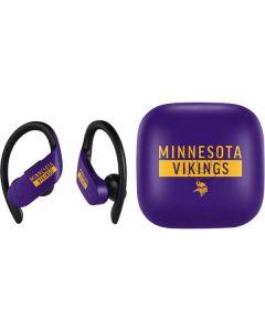 Minnesota Vikings Purple Performance Series PowerBeats Pro Skin
