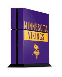 Minnesota Vikings Purple Performance Series PS4 Console Skin