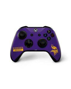 Minnesota Vikings Purple Performance Series Xbox One X Controller Skin