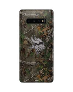 Minnesota Vikings Realtree Xtra Green Camo Galaxy S10 Plus Skin