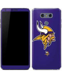 Minnesota Vikings Retro Logo LG G6 Skin