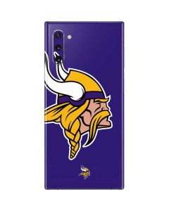 Minnesota Vikings Retro Logo Galaxy Note 10 Skin