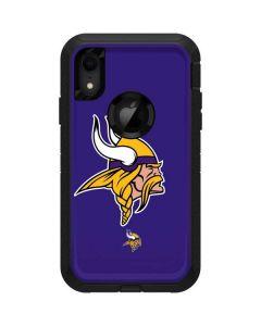 Minnesota Vikings Retro Logo Otterbox Defender iPhone Skin