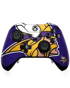 Minnesota Vikings Retro Logo Xbox One Elite Controller Skin