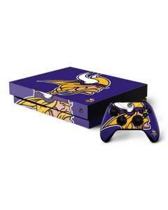 Minnesota Vikings Retro Logo Xbox One X Bundle Skin