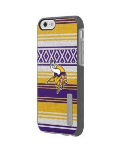 Minnesota Vikings Trailblazer Incipio DualPro Shine iPhone 6 Skin