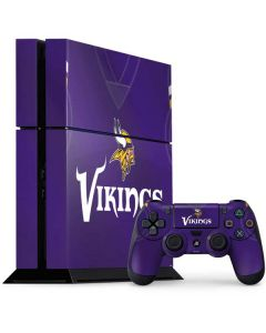 Minnesota Vikings Team Jersey PS4 Console and Controller Bundle Skin