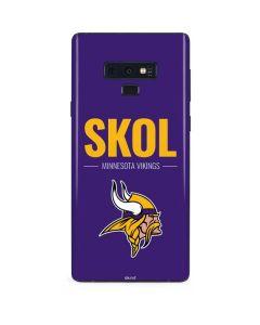 Minnesota Vikings Team Motto Galaxy Note 9 Skin