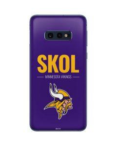 Minnesota Vikings Team Motto Galaxy S10e Skin