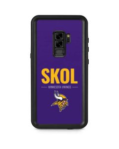 Minnesota Vikings Team Motto Galaxy S9 Plus Waterproof Case