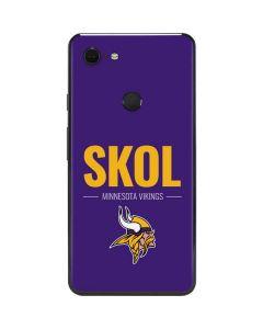 Minnesota Vikings Team Motto Google Pixel 3 XL Skin