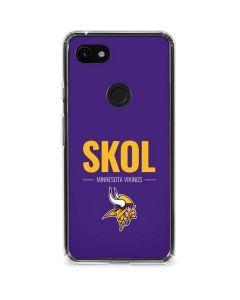 Minnesota Vikings Team Motto Google Pixel 3a Clear Case