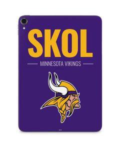 Minnesota Vikings Team Motto Apple iPad Pro Skin