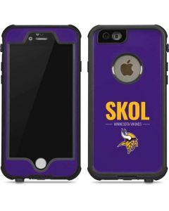Minnesota Vikings Team Motto iPhone 6/6s Waterproof Case