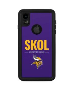 Minnesota Vikings Team Motto iPhone XR Waterproof Case