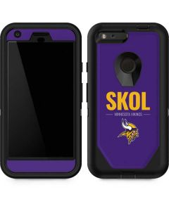 Minnesota Vikings Team Motto Otterbox Defender Pixel Skin