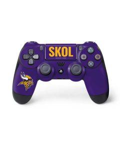 Minnesota Vikings Team Motto PS4 Controller Skin
