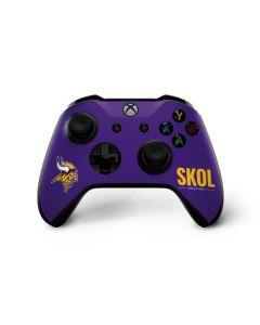 Minnesota Vikings Team Motto Xbox One X Controller Skin